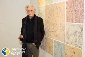 Andrés Gana realizó un compilado de sus obras desde la década del 70' hasta la actualidad.