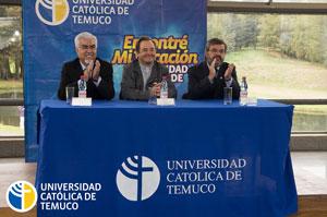 Los alumnos recibieron el saludo de las máximas autoridades de nuestra Universidad.