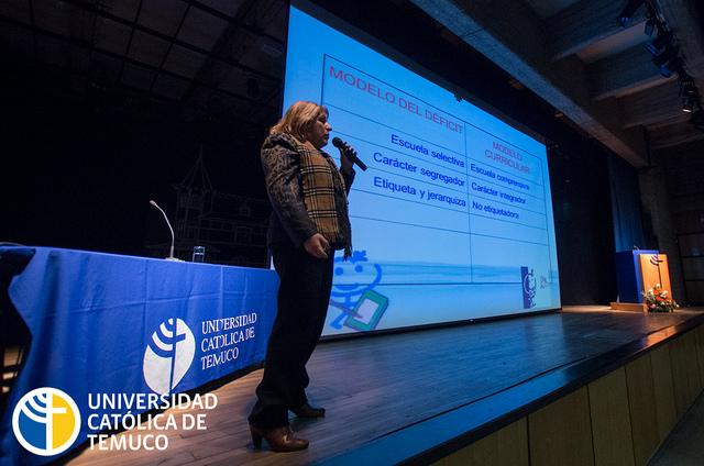 Expertos nacionales e internacionales dieron vida a este segundo Congreso sobre educación inclusiva.