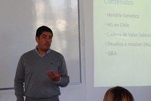 Rodrigo Torrijo, gerente general de la empresa Hendrix Genetics